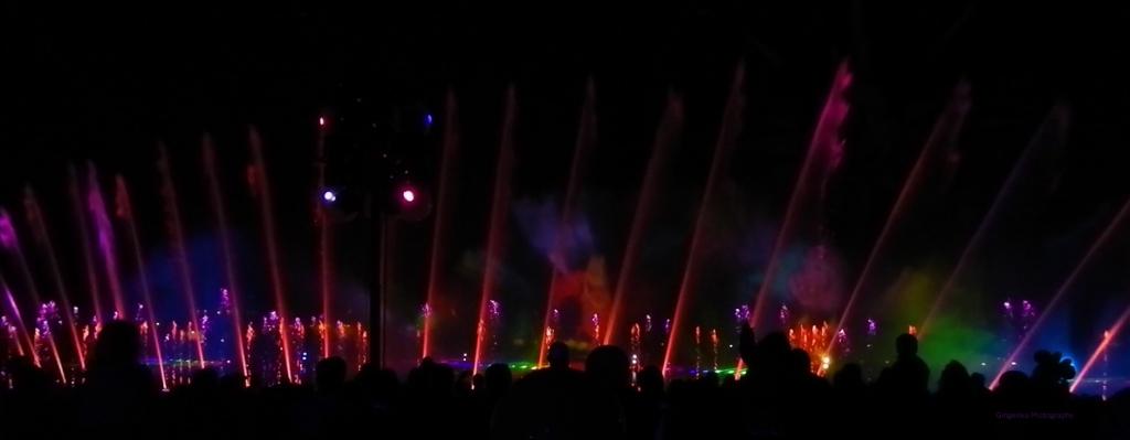 rainbow beams