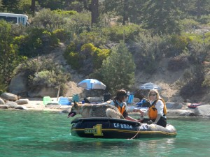 As we were leaving Sand Harbor, we noticed some diver and dog training exercises.   How cool is that??