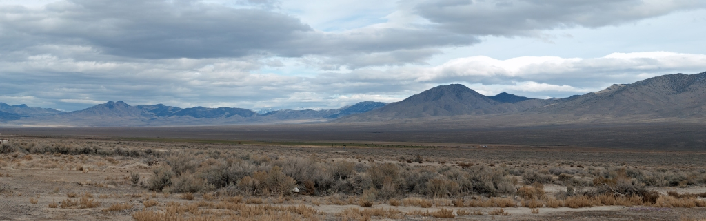 Classic Nevada views from Safe Haven