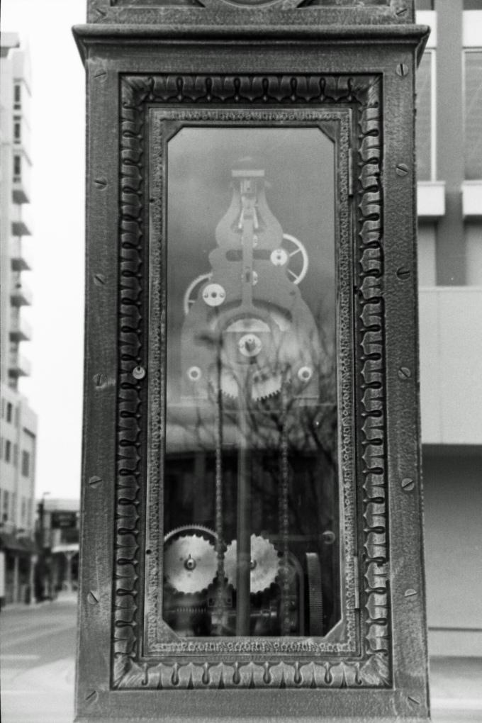 inside the clock