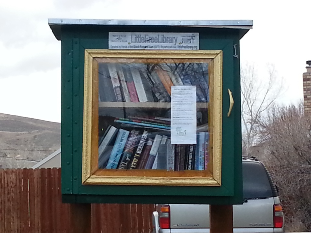 gingerlea little free library