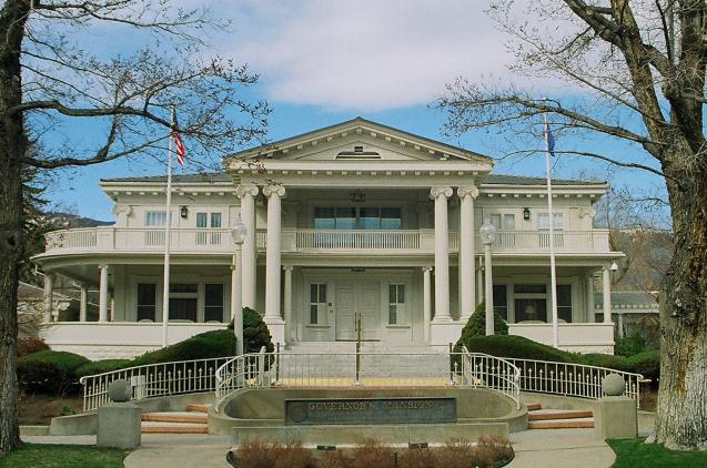 gov mansion front