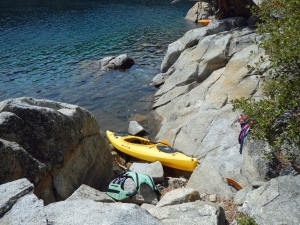 Did I mention I fell out of the kayak at Fannette Island?   Yup.  Cold, cold water.   I didn't mind, though.   It was still a good day.