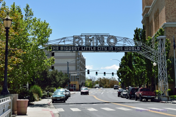 the old Reno arch